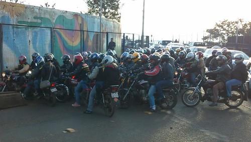 Moto taxis