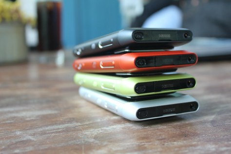 The Nokia N8 Colours