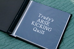 """Trudy's Arse Kicking Quilt"" Book"
