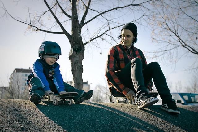 Olavi ja Popi downhill