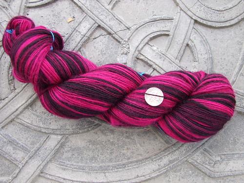 Poodle Skirt - Scarlet Fleece Wool Paint