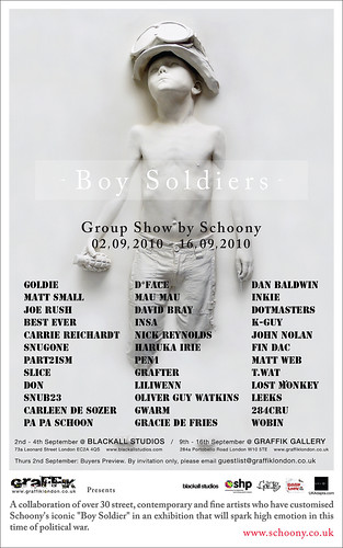 Boy Soldiers - Graffik