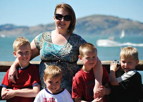Nan and the boys