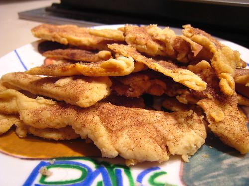 leftover pie crust