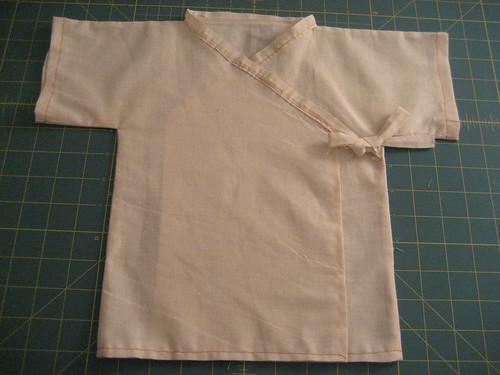 Sewing Project #4 - Baby Kimono Prototype 1