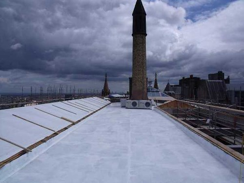 We now have a new roof at the west end