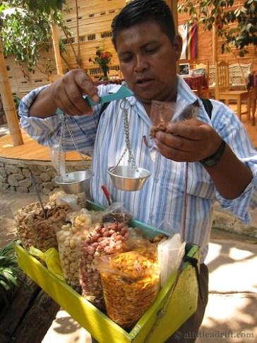 Central American Nut Vendor