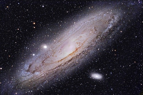 "M31 Andromeda Galaxy (NGC 224) ""Explore"" by Terry Hancock www.downunderobservatory.com"