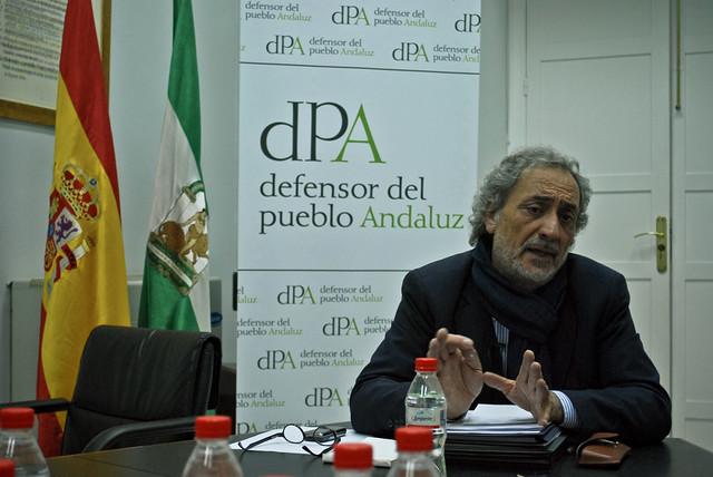 José Chamizo, Defensor del Pueblo Andaluz.