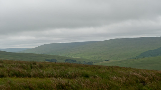 Views from near the top of the pass to Hawes