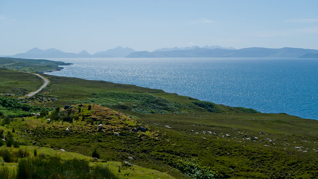 Skye from Applecross Peninsula