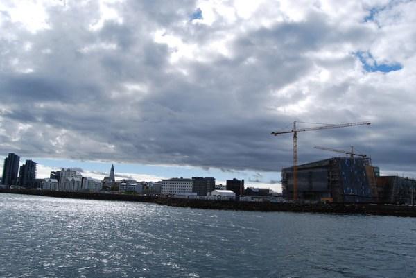 Reykjavík desde el mar