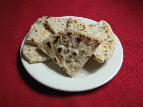 peshwari roti, pieces