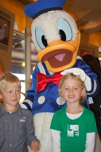 Met Donald Duck