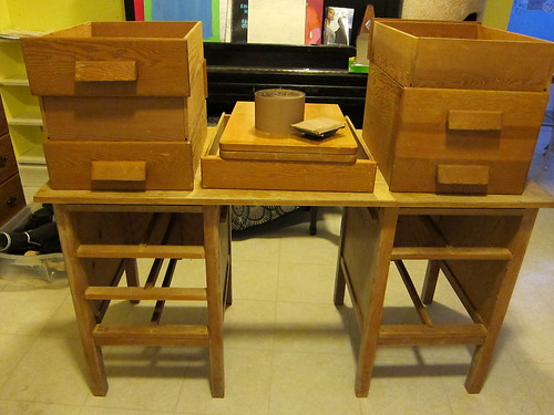 Desk 1/2 Sanded