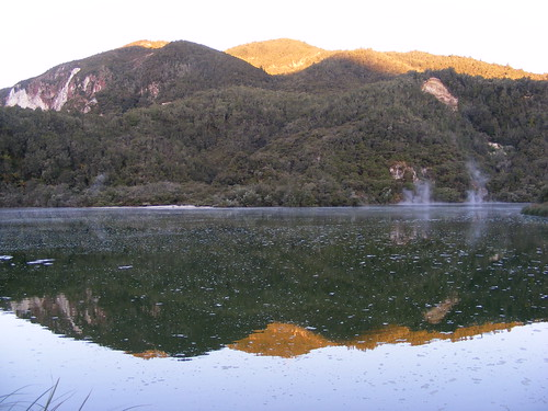 Picture from Kerosene Creek, New Zealand