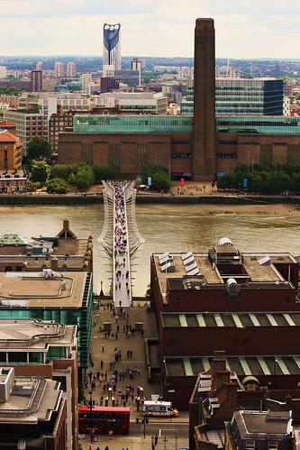 View of Tate Modern from St. Paul's Cathedral 2