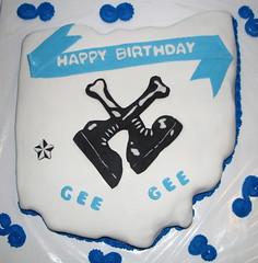Legbone Birthday Cake