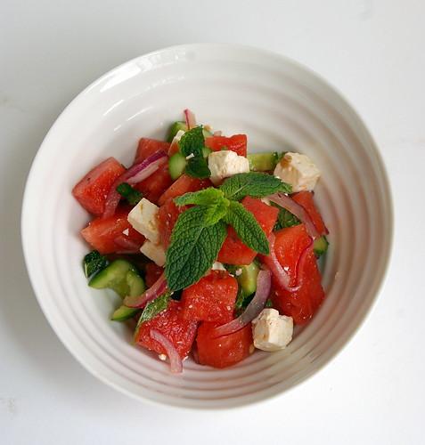 Feta-Watermelon Salad II
