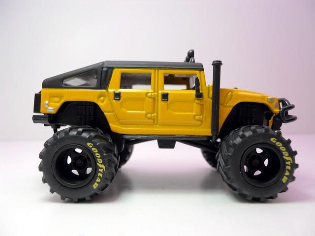jada toys bigtime 4 wheelin 2006 hummer h1 (4)