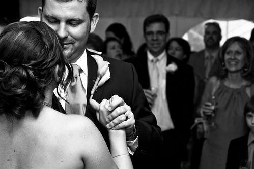 First Dance BW