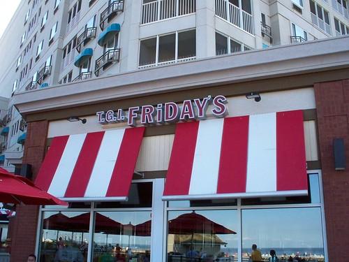 Cedar Point - T.G.I. Friday's on the Beach