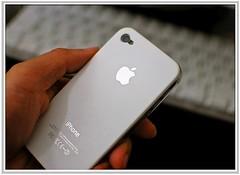 iPhone 4 White Plastic Case