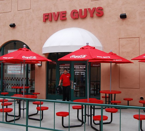 Five Guys at Liberty Station