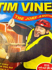 Tim Vine The Joke-Amotive promotional advert