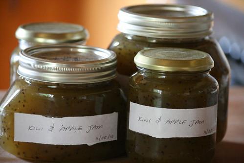 Kiwi & Apple Jam