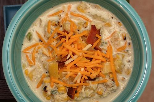 Squash Corn Chowder 2