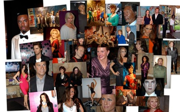 Tussauds collage