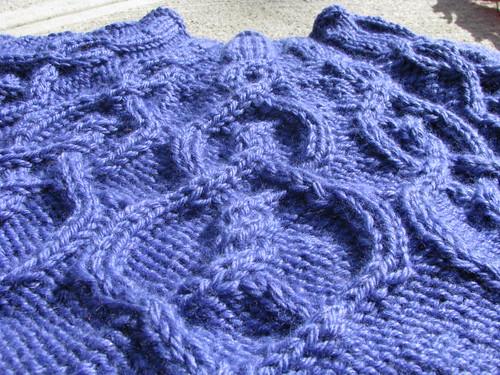 Twilight Twisty Celtic Knots Close Up