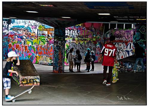 Skateboard Park, London