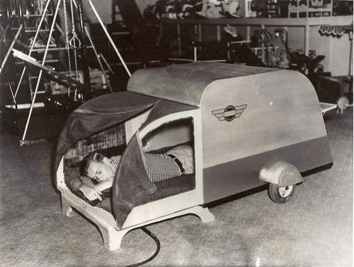 bicylcle sleeping car