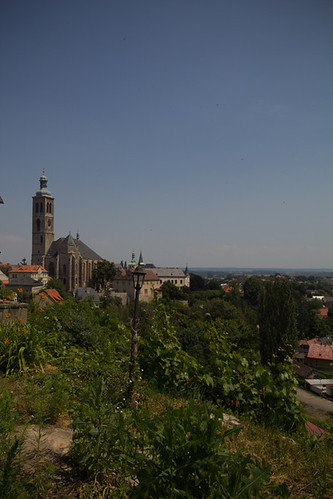 View over Kutná Hora