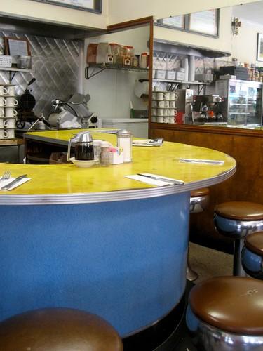 Coronet Luncheonette Interior