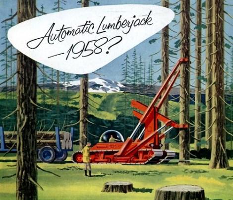 Automatic Lumberjack 1958?