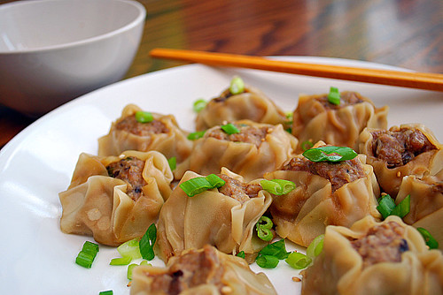 Pork, Ginger & Mushroom Shumai - What's Cookin, Chicago?