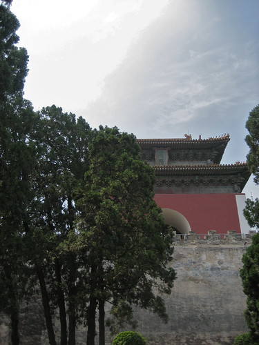 Changling tomb's gate tower