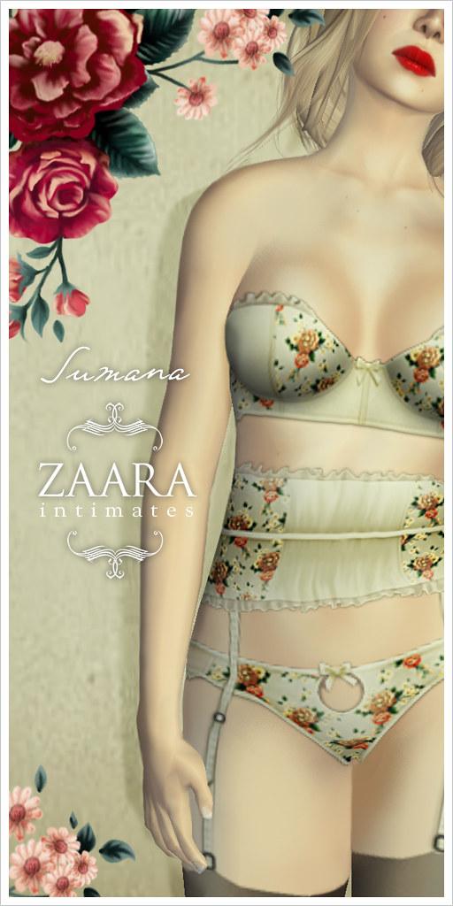 Zaara : Sumana Lingerie
