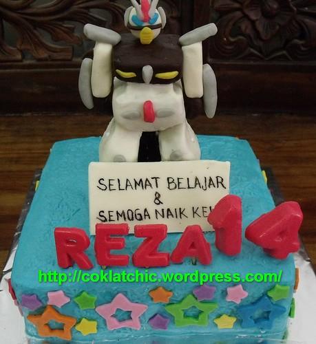 Mini cake Upin ipin, thomas and friends, robot cake – REZA