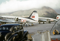 Hong Kong - We rode back to Oki in one of these planes - 3 Jan 54