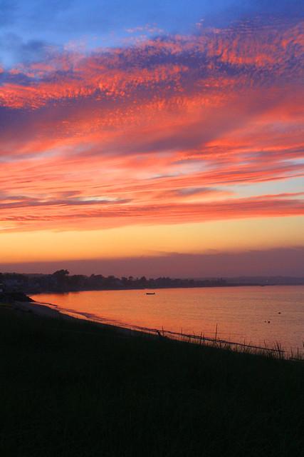 Sunset at Hills Beach
