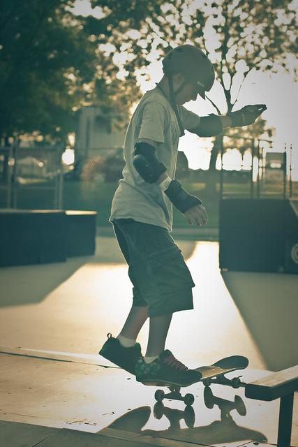{242/365} skateboarding