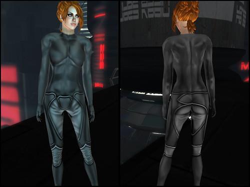 Female XEI - clothes detail
