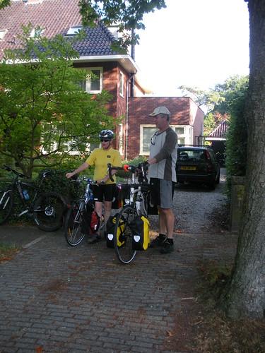Leaving Driebergen, Netherlands