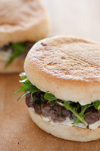 salt crusted burgers