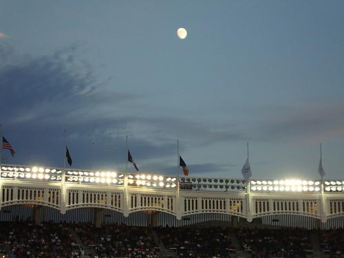 Moon Over Yankee Stadium