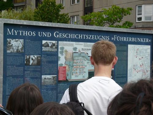 Emplazamiento del Bunker de Hitler